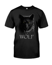 WOLF - I AM THE WOLF Classic T-Shirt front