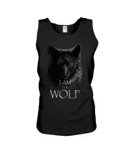 WOLF - I AM THE WOLF Unisex Tank thumbnail