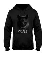 WOLF - I AM THE WOLF Hooded Sweatshirt thumbnail