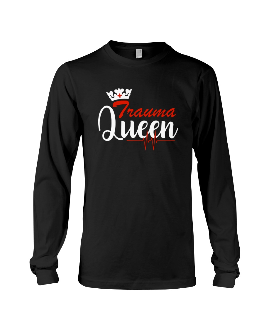 trauma queen Long Sleeve Tee