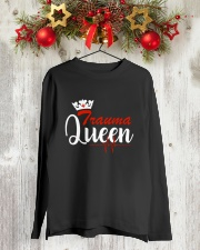 trauma queen Long Sleeve Tee lifestyle-holiday-longsleeves-front-2
