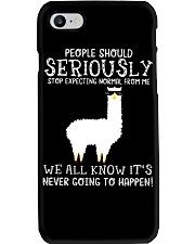 Llama People Should Seriously Phone Case thumbnail