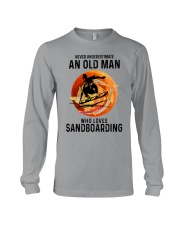 Sandboarding never old man Long Sleeve Tee tile