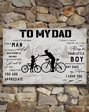 Cycling TO My Dad Poster 36x24 Poster poster-landscape-36x24-lifestyle-15