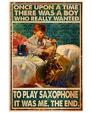Saxophone Once Upon Poster 24x36 Poster front