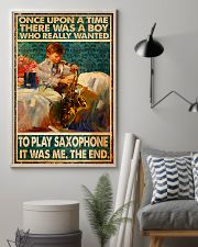 Saxophone Once Upon Poster 24x36 Poster lifestyle-poster-1