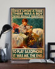 Saxophone Once Upon Poster 24x36 Poster lifestyle-poster-2