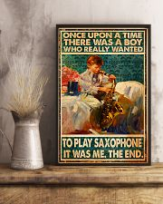 Saxophone Once Upon Poster 24x36 Poster lifestyle-poster-3