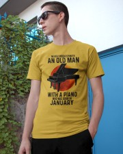 01 piano never old man Classic T-Shirt apparel-classic-tshirt-lifestyle-17