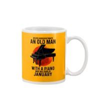 01 piano never old man Mug tile