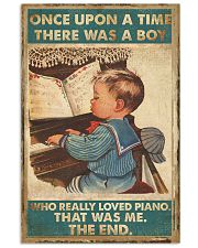 Piano Once Upon Poster 24x36 Poster front