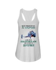 09 drag racing funny Ladies Flowy Tank tile