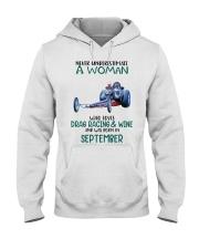 09 drag racing funny Hooded Sweatshirt tile
