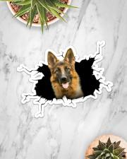 German Shepherd Sticker - Single (Horizontal) aos-sticker-single-horizontal-lifestyle-front-06
