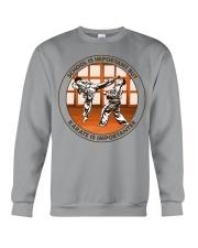 SCHOOL IS karate Crewneck Sweatshirt tile