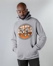SCHOOL IS karate Hooded Sweatshirt apparel-hooded-sweatshirt-lifestyle-front-09