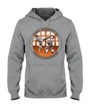 SCHOOL IS karate Hooded Sweatshirt tile