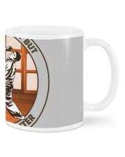 SCHOOL IS karate Mugs tile