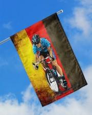 "cycling flag germany 11.5""x17.5"" Garden Flag aos-garden-flag-11-5-x-17-5-lifestyle-front-16"