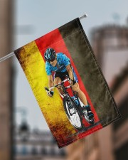 "cycling flag germany 11.5""x17.5"" Garden Flag aos-garden-flag-11-5-x-17-5-lifestyle-front-17"