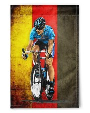 """cycling flag germany 11.5""""x17.5"""" Garden Flag front"""