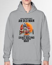 drag racing olm 05 Hooded Sweatshirt garment-hooded-sweatshirt-front-04