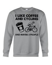 like-coffee-cycling Crewneck Sweatshirt tile