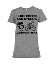 like-coffee-cycling Premium Fit Ladies Tee tile