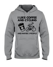 like-coffee-cycling Hooded Sweatshirt tile
