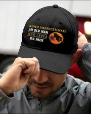 hat dj mix old man Embroidered Hat garment-embroidery-hat-lifestyle-01