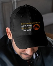hat dj mix old man Embroidered Hat garment-embroidery-hat-lifestyle-02