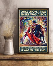 Bullfighting Once Upon Poster 24x36 Poster lifestyle-poster-3