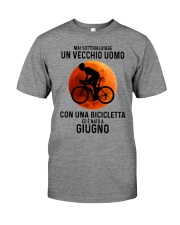 06 cycling old man italy Premium Fit Mens Tee tile