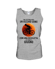 06 cycling old man italy Unisex Tank tile