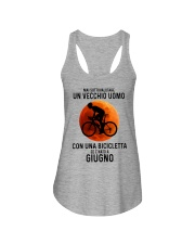 06 cycling old man italy Ladies Flowy Tank tile
