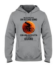 06 cycling old man italy Hooded Sweatshirt tile