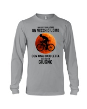 06 cycling old man italy Long Sleeve Tee tile