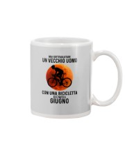 06 cycling old man italy Mug tile