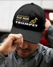 hat trumpet old man Embroidered Hat garment-embroidery-hat-lifestyle-01