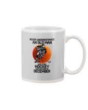 hockey old man 12 Mug tile