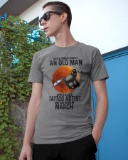 03 tatoo artist never old man Classic T-Shirt apparel-classic-tshirt-lifestyle-17