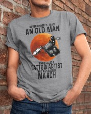 03 tatoo artist never old man Classic T-Shirt apparel-classic-tshirt-lifestyle-26