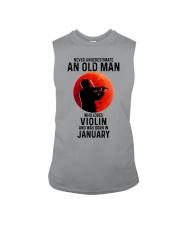 Violin Old Man Never 01 Sleeveless Tee tile