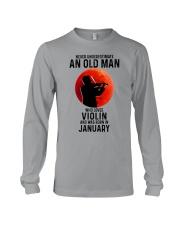 Violin Old Man Never 01 Long Sleeve Tee tile