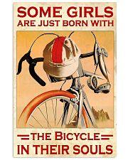 Bicycle Girl Poster  24x36 Poster front