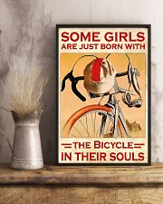 Bicycle Girl Poster  24x36 Poster lifestyle-poster-3