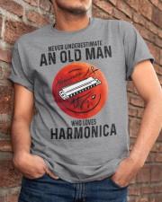 Harmonica never old man Classic T-Shirt apparel-classic-tshirt-lifestyle-26