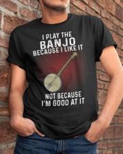i play banjo Classic T-Shirt apparel-classic-tshirt-lifestyle-26