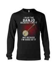 i play banjo Long Sleeve Tee tile