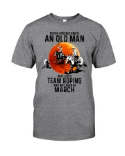 03 Team roping old man Classic T-Shirt front